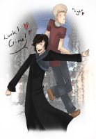 BBC Sherlock and Watson :CRIME by fruits-basket-head