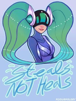 Steals Not Heals by ROGUEKELSEY