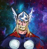 Dont Mess With Asgard by MaxRomanchak