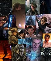 Collage of Anakin Skywalker by LadyIlona1984