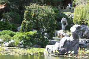 Chinese gardens 122 by fa-stock