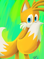.:OHS:. Tails by Splattered-Wolf