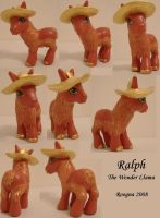 Ralph the Wonder Llama by Roogna