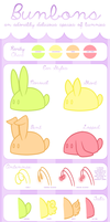 Bunbon Species Sheet by Kiwicide