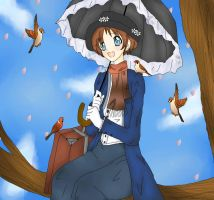 Mary Poppins by MachaAsahina