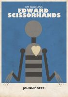 Edward Scissorhands Poster by countevil