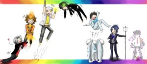 18. Rainbow - KHR by K-haza