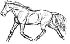 Horse for Renommee Lineage Sheet by ReeseS8