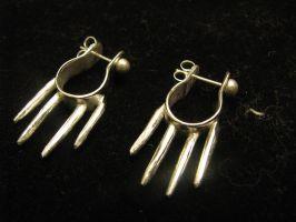 Icicle Earrings by Elemental-Spirit24