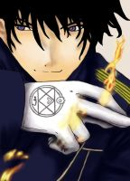 Roy Mustang by ceruleanbloom