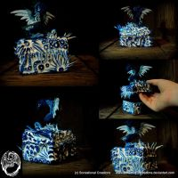 Mini Elemental Box - Water by SonsationalCreations