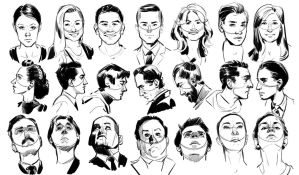 Head Studies by mikepetherick