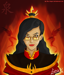 Fire Lord Izumi by The-Blue-Dragon-Lord