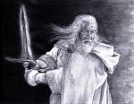 Gandalf the white by Oigres-Undead