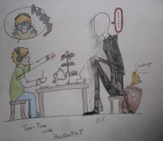 Teatime with Pewdiepie by swiftdreamer15