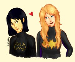 Batgirls by batbobbles