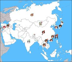 APH: Map of Asia by jjblue1
