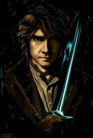 Strong Baggins by caffeinesoup