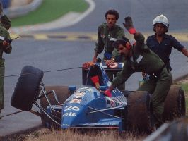 Ligier JS33B (Spain 1990) by F1-history