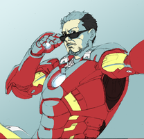 Tony Stark by PkBlitz