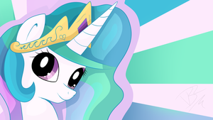 Celestia Wallpaper by Victoriathekitty