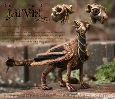 Jarvis - Juvenile Quarry Dragon by ElreniaGreenleaf