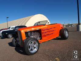Hot Orange Roadster by Swanee3