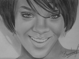 Rihanna by Vira1991