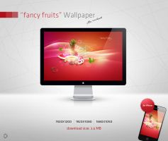 fancy fruits Wallpaper by Andasolo
