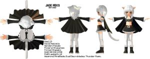 Jade Neko Reff Sheet by ItsRamos