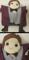 Doctor Who - Eleventh Doctor Pillow by orinocou