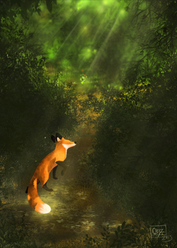 Forest Path by CatBeast17