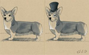 Well-Bred Welsh Corgi by MyRobotBee