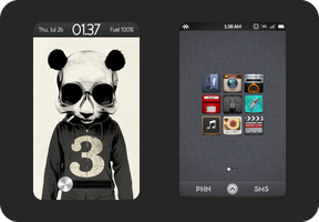 Android Panda by Gertone