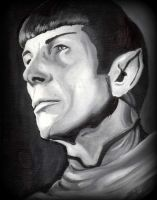 Spock by TheCraftyWhiteFox