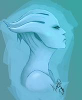 Narcissism - Asari by kanu22