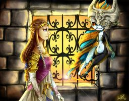 TLoZ Twilight Princess - It's finally over by Rebe-chan-vk