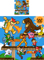 Super Smash Brothers by Veni-Mortem