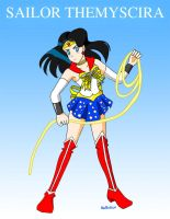 Sailor Themyscira by Nasdreks