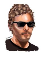 Norman Reedus - sunglasses by sarabanu
