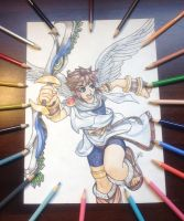 Pit-Kid Icarus by yopikachu