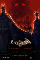 Arkham City Movie Poster - Incomplete - by ElJore