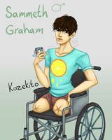 Sammeth Graham - OC by Kozekito