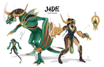 Jade Shyvana by fivetinsoldiers