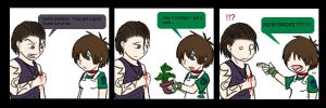 Resident evil zero fan comic by Stais