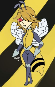 Beedrill Gijinka CLOSED by mangadoptables