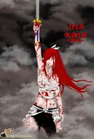 erza scarlet  fairytail ep. 284 :) by hallow1791