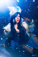 League of Legends: Snowstorm Sivir by Kairisia