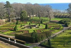 Dunrobin Castle in early spring by piglet365