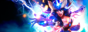 [Facebook cover photo] [Design] Sivir (Snowstorm) by etershine
